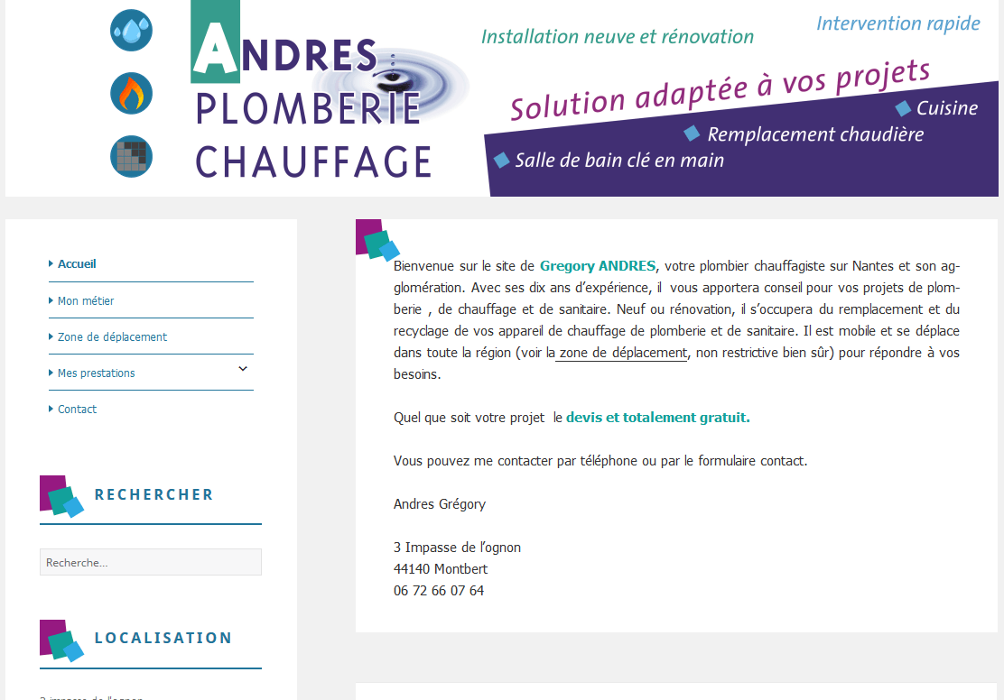 Andres Plomberie Chauffage