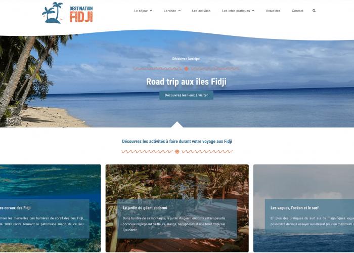 Destination Fidji
